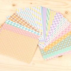 폴라로이드 필름 스킨 Milky pastel color pattern 20장