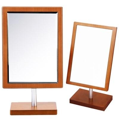 헤닝스 우드 사각거울(중)