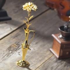 24K 금카네이션 선물세트 (금화병 & 비누꽃 &선물상자)