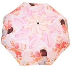 꽃과소녀 전자동 3단우산