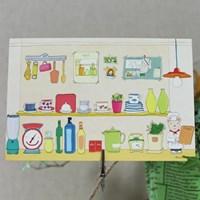 엽서-카페풍경