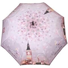 런던의야경 그레이 자동장우산