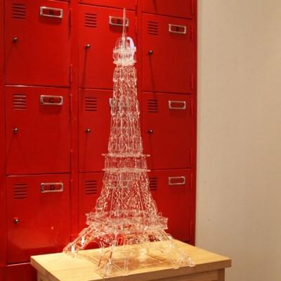 JWK 투명하고 아름다운 파리 에펠탑 인테리어소품