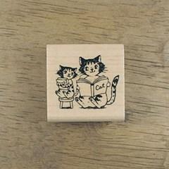 [동물&곤충]책 읽어 주는 고양이