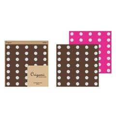 ORIGAMI - daisy (brown/pink)