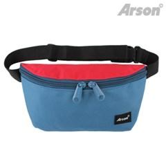 알슨 AB-0920 FANNY BAG (BLUE/RED)