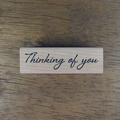 [메세지]필기체 Thinking of you