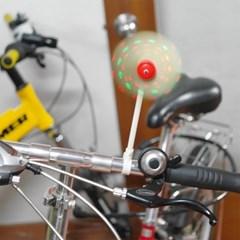 풍력발전 자전거용 LED 바람개비