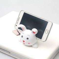 귀여운 동물친구 휴대폰 거치대 - 토끼