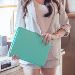 바투카 3D 큐브 맥북에어 노트북 파우치 PUH-13MT 민트