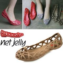 단독제작 Rope pattern jelly shoe_KM12s442