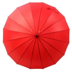 [VOGUE] 보그 프리미엄 수동 장우산(양산겸용) - VG116_레드