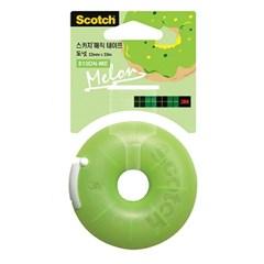 스카치 매직테이프 도넛 디스펜서(810DN-ME/멜론)