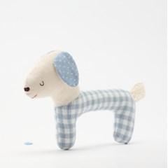 [DIY패턴] 아기인형딸랑이만들기-바우(블루)