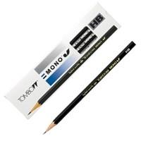 톰보 모노 제이(MONO J) 연필 (HB/ B/ 2B/ 4B)-12자루