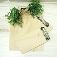 DIY 나무판때기 클립보드