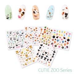 Cutie Zoo 네일스티커