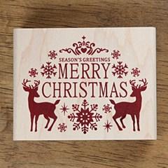 [크리스마스]눈꽃나라 - Merry Chrismas (9X7)