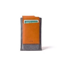 Flap iPhone case - Blend