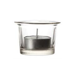 [홈앤하우스] 나팔 투명 유리컵 홀더 10개, 티라이트 보티브 용(소)