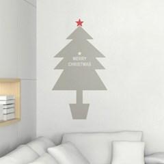 크리스마스트리(2) - 크리스마스 나무 그래픽스티커 월데코 시트지