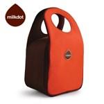 [milkdot]밀크닷 런치토트/컬러풀 다용도 보온보냉 가방/레드