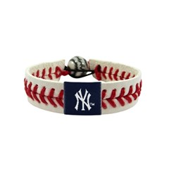 New York Yankees Classic Baseball Bracelet