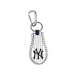 New York Yankees Pinstripe Baseball Keychain