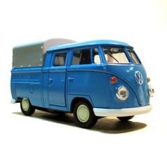 폭스바겐 마이크로버스 천막 트럭 블루
