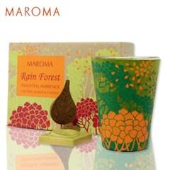[마로마] 캔들&인센스 선물세트  - 레인 포레스트