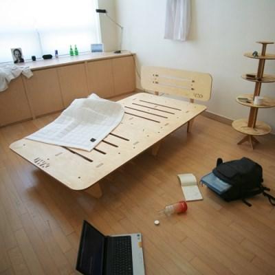시즌2 JWK 바그다드 자작나무 친환경 침상 침대 라이트