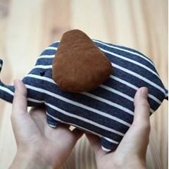 [DIY패턴] 아기인형만들기-코끼리삑삑이
