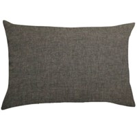 Dark grey pillow cover