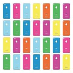 애플 아이폰5 프리미엄 액정보호필름 컬러에디션 - 비비드