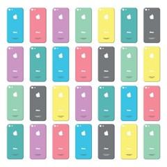 애플 아이폰5 프리미엄 액정보호필름 컬러에디션 - 파스텔