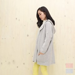 [소프트한감성 가디건]Slow Motion Loosefit Shawl Hood Cardigan