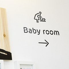 Pictogram Signage: Babyroom Pack