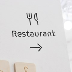 Pictogram Signage: Restaurant Pack