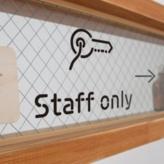 Pictogram Signage: Staffonly Pack