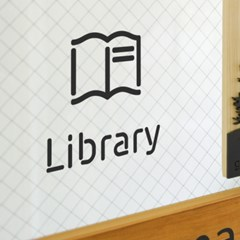 Pictogram Signage: Library Pack