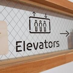 Pictogram Signage: Elevators Pack