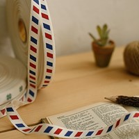 air mail cotton label _ 1마