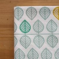 파스텔북유럽패턴-Leaf Repeat Pattern 워터버블워싱 코튼_1마