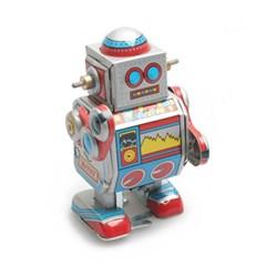 작고 깜찍한 양철 로봇