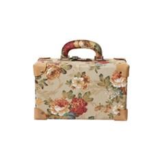 앤플린 5구용 오카리나가방, 오카리나케이스 플라워 베이지라인