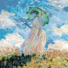 (내가그리는명화)B181-우산든여인 /클로드모네작품