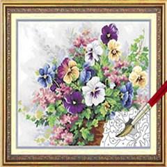 (내가그리는명화)B37-봄꽃의 향연(물감혼합형)