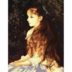(내가그리는명화)B18-이레느 깡 단베르양의초상/르누아르작품