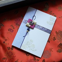 하늘품은 나비 전통카드 / 030-SG-0027