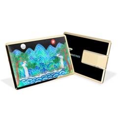 [지아이팩토리] 이츠 제니스 전통 자개 카드형 USB 8GB